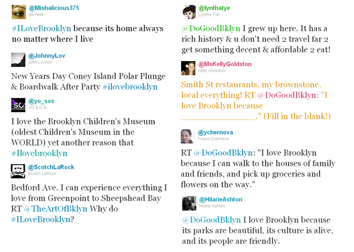 Tweets-ILoveBrooklyn