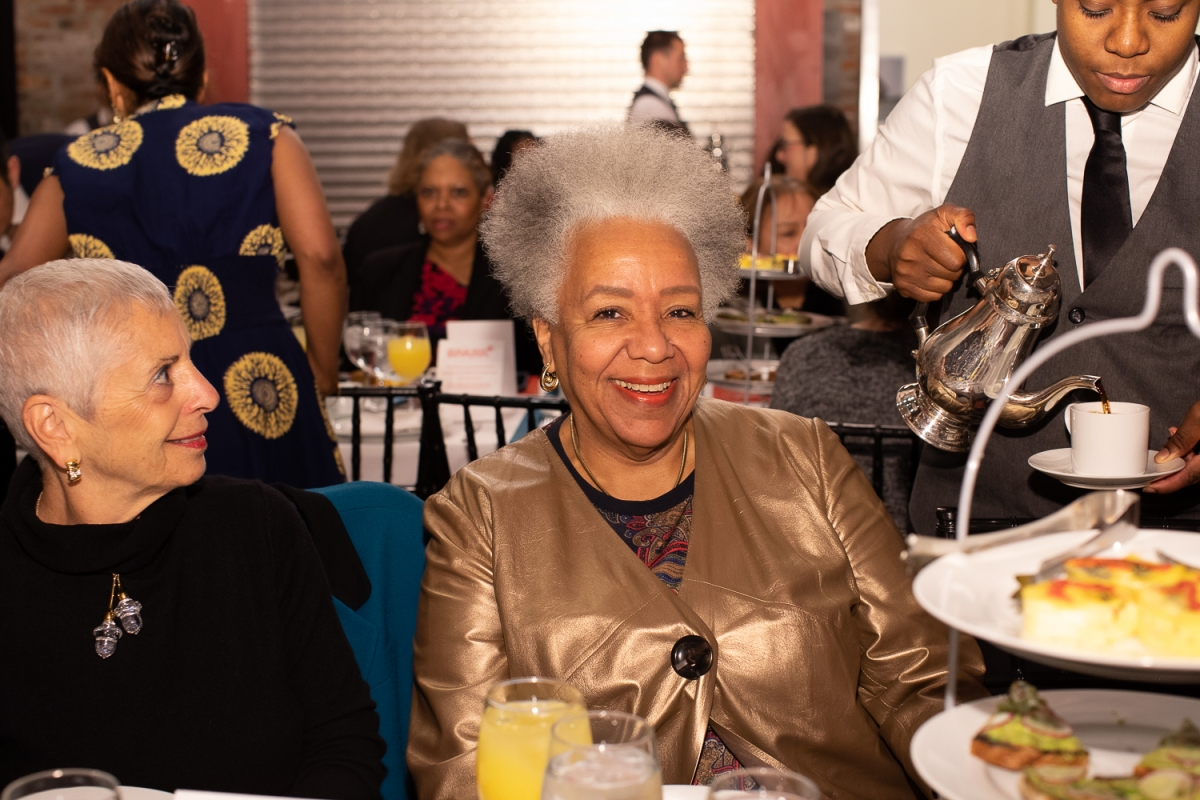 Lola C. West attends the Foundation's 2020 Spark Prize Breakfast.